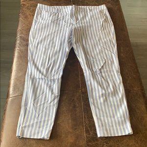 Old Navy striped slacks